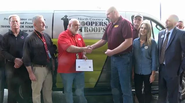 Van Donation To DAV