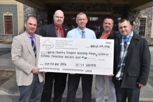 NCTAT Raises Money
